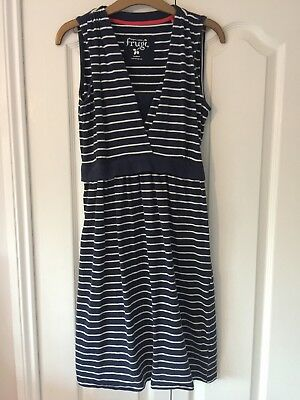 Frugi Summer Tie Nursing Maternity Dress Medium 10/12