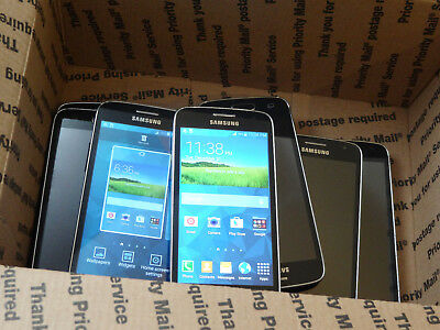 Lot of 9 Samsung Galaxy Avant SM-G386T T-Mobile Smartphones AS-IS GSM