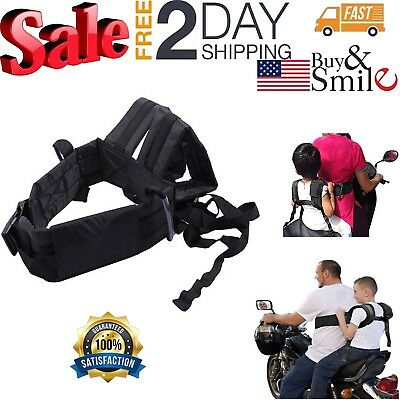 Motorcycle Safety Children Strap for Kids Security Comfortable Harness Seat Belt