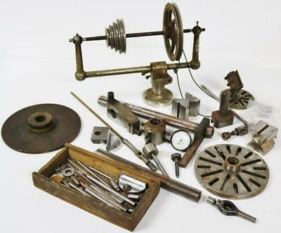 Vintage Watchmakers lathe / Clockmakers Lathe Clock Parts - Clock Tools