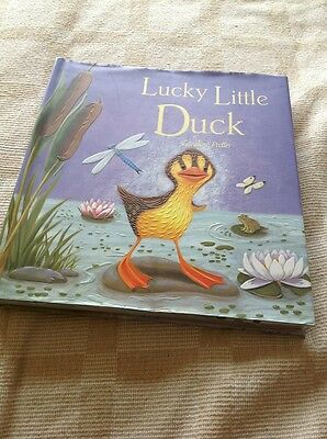 Beautiful Book Called Lucky Little Duck Illustrated By Caroline Pedler Embossed
