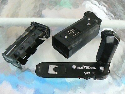 CANON MOTOR DRIVE MA for CANON A-1 & AE-1 PROGRAM *TESTED *MINT-