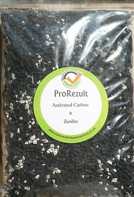 1 Kg Activated Carbon Zeolite 50/50 Mix Aquarium Pond Filter Media Biorb Fluval