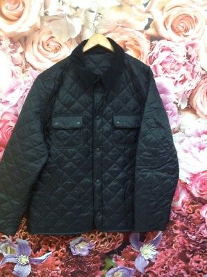 💭 BARBOUR Men's ' Tinford' Quilted Jacket In Black Size XXL 💭