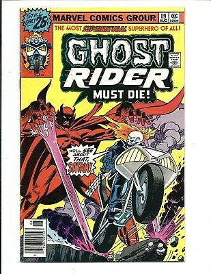 GHOST RIDER (Vol.1) # 19 (CENTS ISSUE, AUG 1976), VF