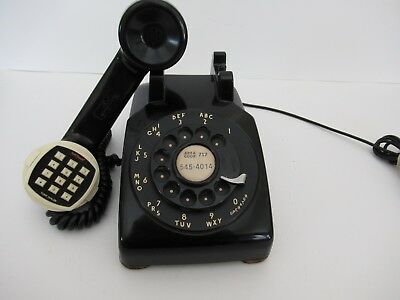 Antique RARE 1953 Western Electric telephone  500 with Touch Tone Fully restored