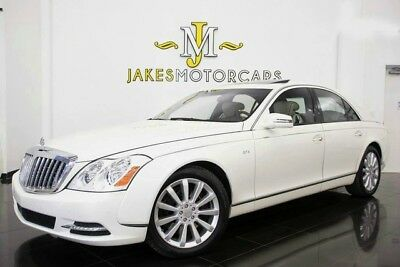 2011 Maybach 57 S ($428,650 MSRP!) 2011 MAYBACH 57S, $428,650 MSRP! ANTIGUA WHITE ON ASPEN WHITE, ONLY 28K MILES