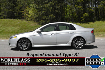 Acura TL 4dr Sedan MT Type-S Loaded 2007 Acura TL Type-S w/6-speed MANUAL! *RARE* / Navigation & leather 0809