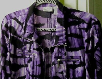 CHICO'S ZENERGY JACKET--Size 1 (8)
