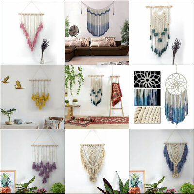 Various Macrame Tapestry Handmade BOHO Chic Wall Hanging Bohemian Craft Decor