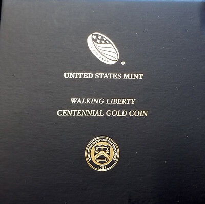 2016 Gold Walking Liberty Half Dollar 1/2 oz bullion coin in OGP