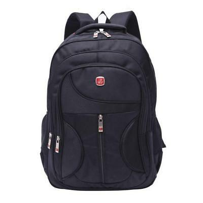 15.6inch Waterproof Laptop Backpack Nylon Business Travel Rucksack Free shipping