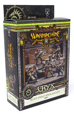 Warmachine Cryx Black Ogrun Smog Belchers Unit PIP 34150