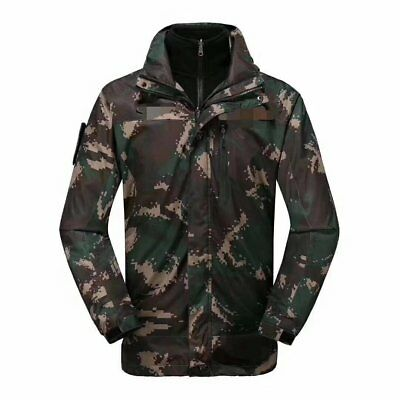 07's series China PLA Special Forces Digital Camouflage Winter Technical Jacket