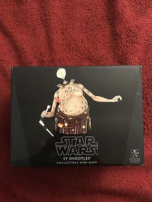 Star Wars Gentle Giant Sy Snootles Mini Bust # 471/850