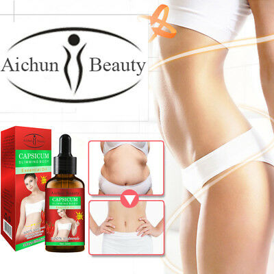 Aichun CAPSICUM Slimming Body Essential Oil 100% Natural 3 Day Effective 30ml