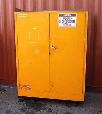 PRATT SAFETY CABINET 250L Hazardous Dangerous Flammable Liquids Storage 5560 AS