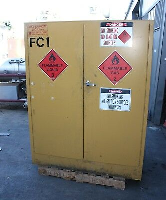 PRATT SAFETY CABINET 5560 AS 250L Hazardous Dangerous Flammable Liquids Storage