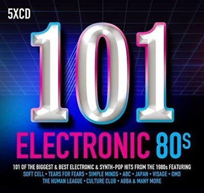 Various Artists-101 Electronic 80s  (UK IMPORT)  CD NEW
