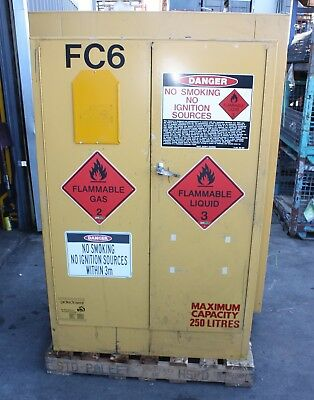 PRATT SAFETY CABINET 5545 S 250L Hazardous Dangerous Flammable Liquids Storage
