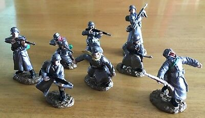 World War II German Army Infantry Toy Soldiers