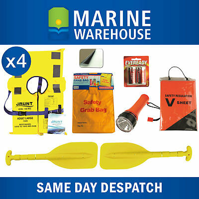 Marine Safety Gear Compliance Kit Recreational Water Activities Package 308328EB