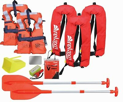 Boating Safety Equipment Boat Safety Kit Marine Safety Gear Kit - Adult Manual