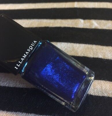 ILLAMASQUA NAIL VARNISH Polish Phalic Midnight Blue Shimmer .5 oz ...