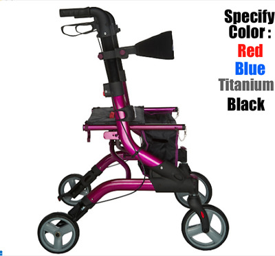 Drive Medical Dynamic Foldable Lightweight Rollator # Q-154000