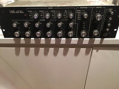 The Original Urei 1620 DJ Mixer from the 80's One Owner