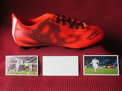 Real Madrid Gareth Bale Authentic Genuine Signed Adidas Match Boot- Photo Proof