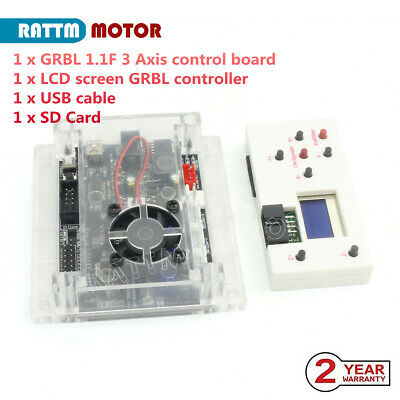 New 3 Axis GRBL Control Board+Hand Control for 1610 2418 3018 CNC Laser Machine