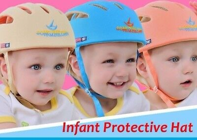 Baby Toddler Safety Helmet Headguard Children Cap Harnesses Kid Head Protect Hat