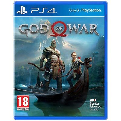 God of War PS4 for PS4 For PlayStation 4