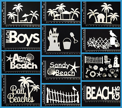 White Chipboard - Beach & Nautical - Collection One