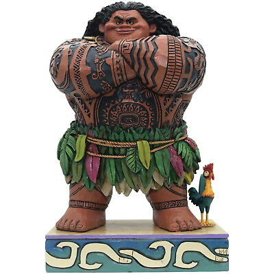 NEW OFFICIAL Disney Traditions Maui from Moana Daring Demigod Figurine 4058284