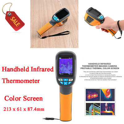 2.4 Inch Handheld Thermometer Imaging Camera Protable Thermal Color Screen TT