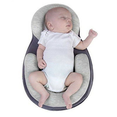 Portable Baby Crib Bassinet Folding Travel Nursery Infant Cradle Sleeping Bed