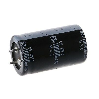 10000UF 63V Long Life High-frequency Electrolytic Capacitor Durable Capacitors