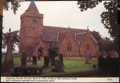 Scotland Aberlady Parish Church - posted