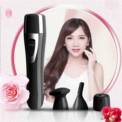 Electric Cordless Wet & Dry Lady Shaver Women Trimmer Bikini Legs Hair Remover
