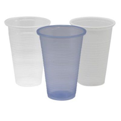 7oz Clear Plastic Disposable Cups Water Strong Catering Events Cafe Office Hotel