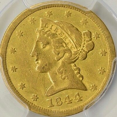 1844-O Pcgs Xf Details $5 - Best Ebay Price For Date In Any Grade - Pls Read