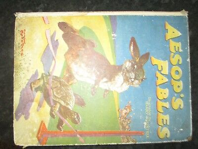 AESOPS  FABLES ILLUSTRATED BY HARRY ROWNTREE  by THE CHILDRENS PRESS GLASCOW