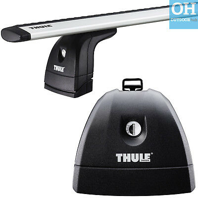 THULE Rapid System 751 Foot Pack Load Feet Fix Point Rack Roof Bars
