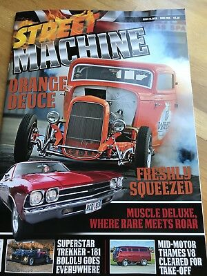 STREET MACHINE UK ISSUE 11 May 2018     Will Post Next Day 2nd Class