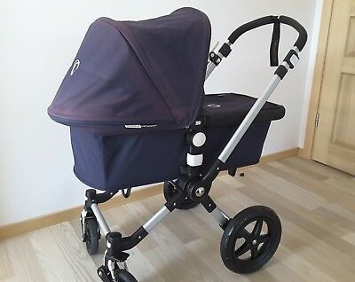 Bugaboo Cameleon 3 Extendable Classic Quilted Navy Hood Fabrics