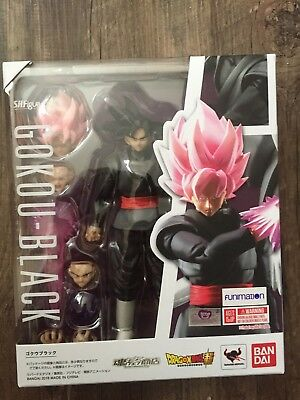 Dragonball Z Super SH Figuarts Goku Black Super Saiyan Rose  *US SELLER*