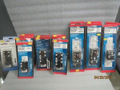 CamcoUSA Water Heater Thermostats-NEW LOT of 17-See large picture for numbers