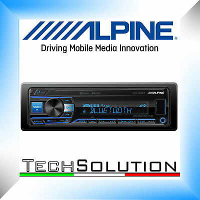 Alpine UTE-200BT Autoradio Stereo USB AUX Bluetooth 2 Pre Out - Garanzia ITALIA